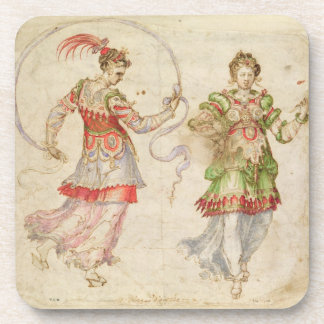 Design for Costumes, probably in the Florentine In Coaster