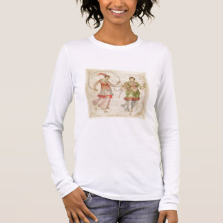 Design for Costumes, probably in the Florentine In Long Sleeve T-Shirt