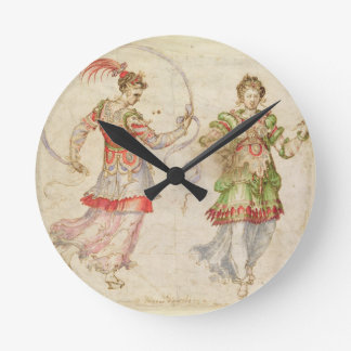 Design for Costumes, probably in the Florentine In Round Clock