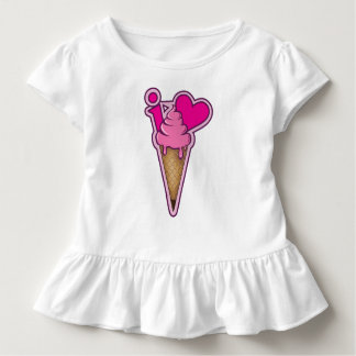 "Design for ice cream lovers - ""I love ice cream"" Toddler T-Shirt"
