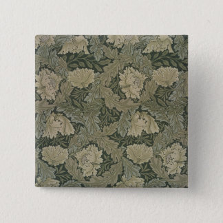 Design for 'Lea' wallpaper, 1885 15 Cm Square Badge