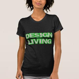 Design for Living T-Shirt www.sobercards.com