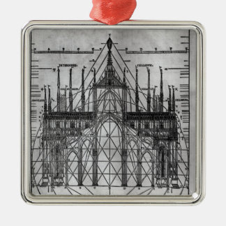 Design for Milan Cathedral Christmas Ornament