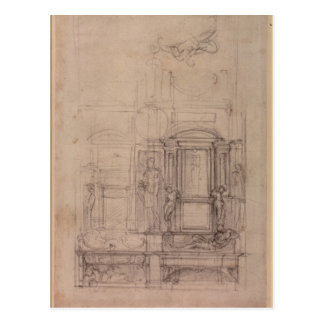 Design for the Medici Chapel Postcard