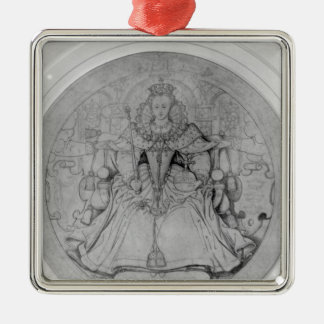 Design for the obverse christmas ornament