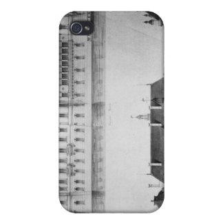 Design for the reconstruction of the north facade case for the iPhone 4