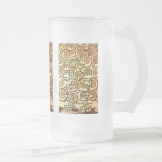 Design for the Stocletfries - Tree of life Frosted Glass Mug