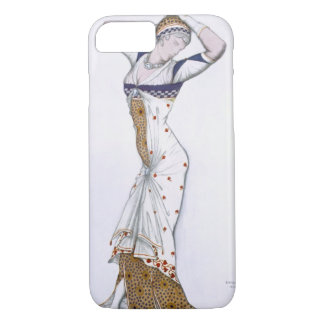 Design from A Fantasy of Modern Costume, 1912 (col iPhone 8/7 Case