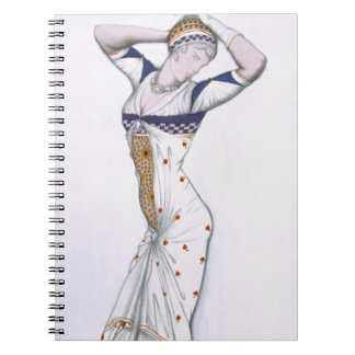 Design from A Fantasy of Modern Costume, 1912 (col Notebooks