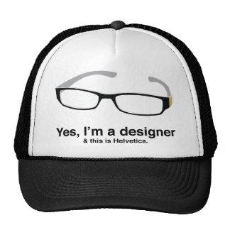 Design Geek Mesh Hats