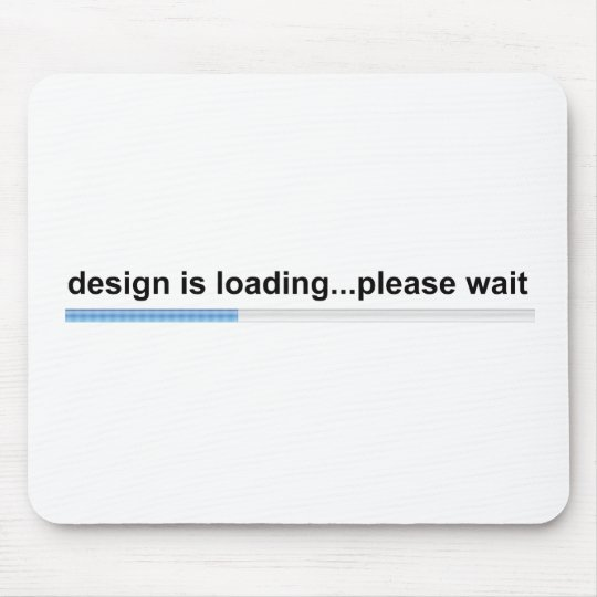 design is loading mouse mat