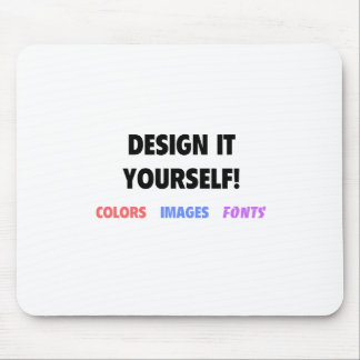 Design It Yourself On Mouse Pad