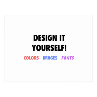 Design It Yourself On Postcard