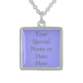 Design My Own Sterling Silver Necklace Personalize