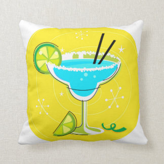 Design pillow with RETRO Cocktail