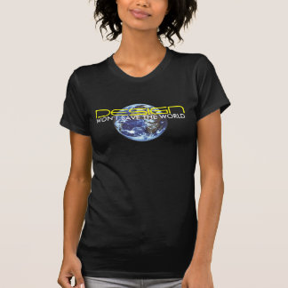Design won't save the World  Designer Globe Tee