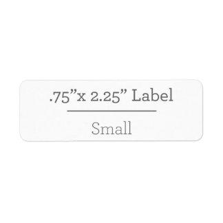 Design Your Own 8.5 X 11 Label Return Address Label