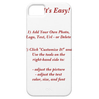 DESIGN YOUR OWN Barely There ID/Credit Card Case Case For The iPhone 5