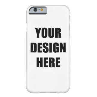 Design Your Own Barely There iPhone 6 Case