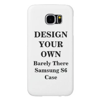 Design Your Own Barely There Samsung S6 Case Samsung Galaxy S6 Cases