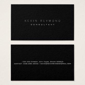 design your own black pro standard business card