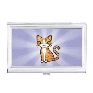 Design Your Own Cartoon Cat Business Card Holder