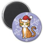 Design Your Own Cartoon Cat (Christmas)
