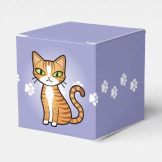 Design Your Own Cartoon Cat Favour Box
