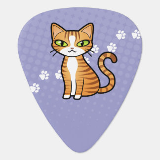 Design Your Own Cartoon Cat Guitar Pick