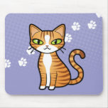 Design Your Own Cartoon Cat Mouse Mat