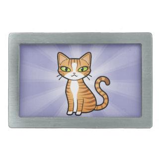 Design Your Own Cartoon Cat Rectangular Belt Buckle