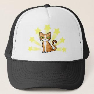 Design Your Own Cartoon Cat Trucker Hat
