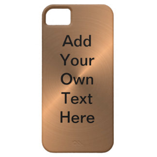 Design Your Own Copper iPhone 5 Covers