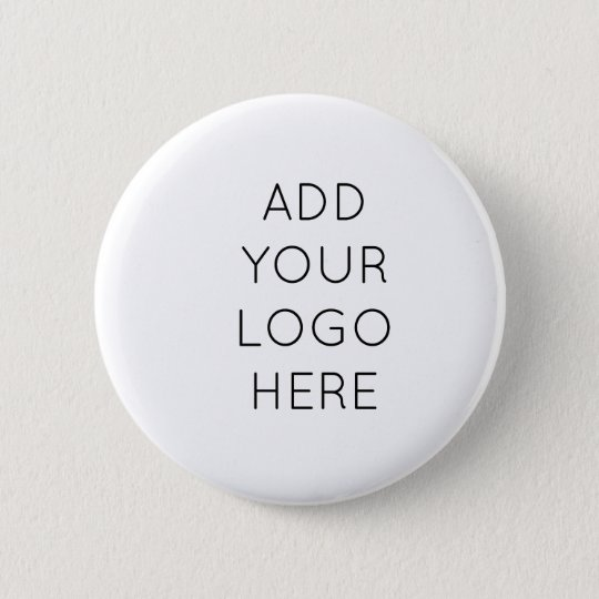 Design Your Own Custom Personalised Logo Image 6 Cm Round Badge