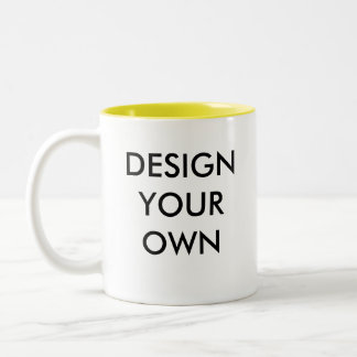 Design Your Own Custom Personalised Two-Tone Mug