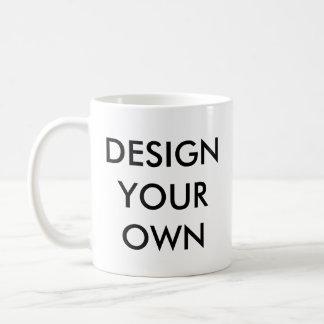Design Your Own Custom Personalised White Mug