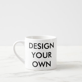 Design Your Own Custom Personalized Espresso Cup