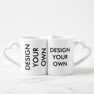 Design Your Own Custom Personalized Lovers' Mugs