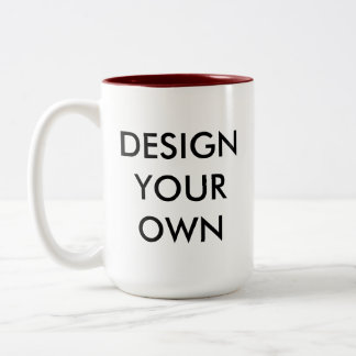 Design Your Own Custom Personalized Two-Tone Mug