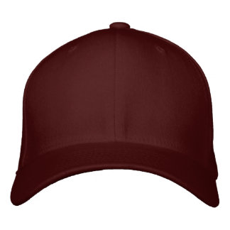 Design Your Own Embroidered Cap - Maroon