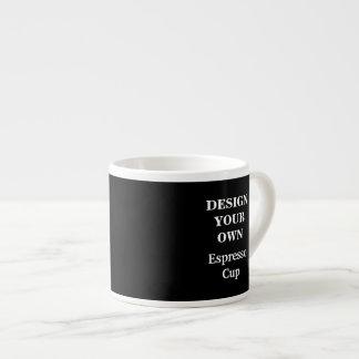 Design Your Own Espresso Cup - Black