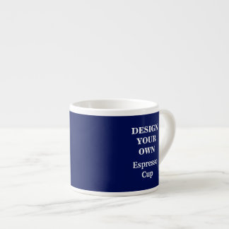 Design Your Own Espresso Cup - Blue