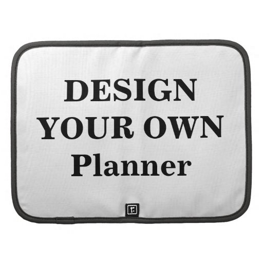 Design Your Own Folio Planner