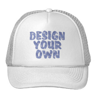 DESIGN YOUR OWN MESH HATS