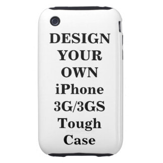 Design Your Own iPhone 3G / 3GS Tough™ Case iPhone 3 Tough Covers