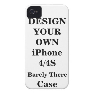 Design Your Own iPhone 4 / 4S Barely There™ Case iPhone 4 Case-Mate Cases