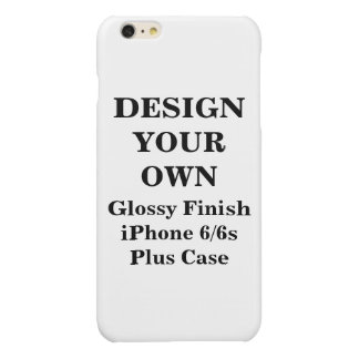 Design Your Own iPhone 6/6s Glossy Finish Plus iPhone 6 Plus Case