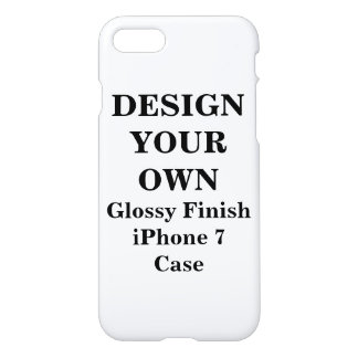 Design Your Own iPhone 7 Glossy Finish Case