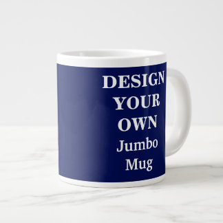 Design Your Own Jumbo Mug - Blue