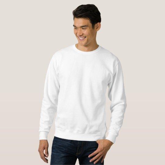 Men's Basic Sweatshirt, White
